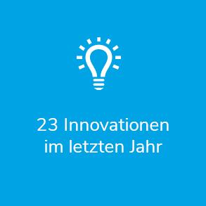 23 Innovationen im letzten Jahr
